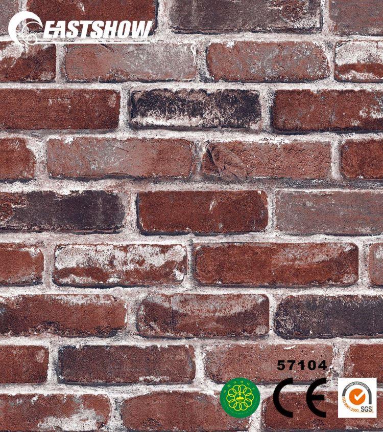 Home Decor Modern Brick 3d Wallpaper - Red Brick Wall Paper - HD Wallpaper