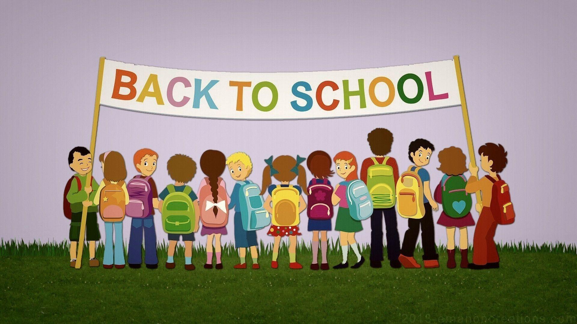 Educational, School, Back To School Wallpapers And - Background Wallpaper Back To School - HD Wallpaper