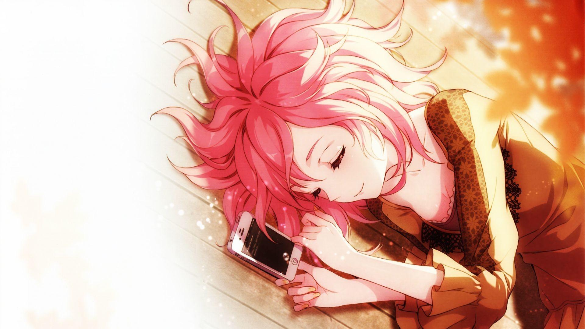 Download 1k Mikasa Ackerman Kawaii Anime Girl Sleeping With Phone 1920x1080 Wallpaper Teahub Io