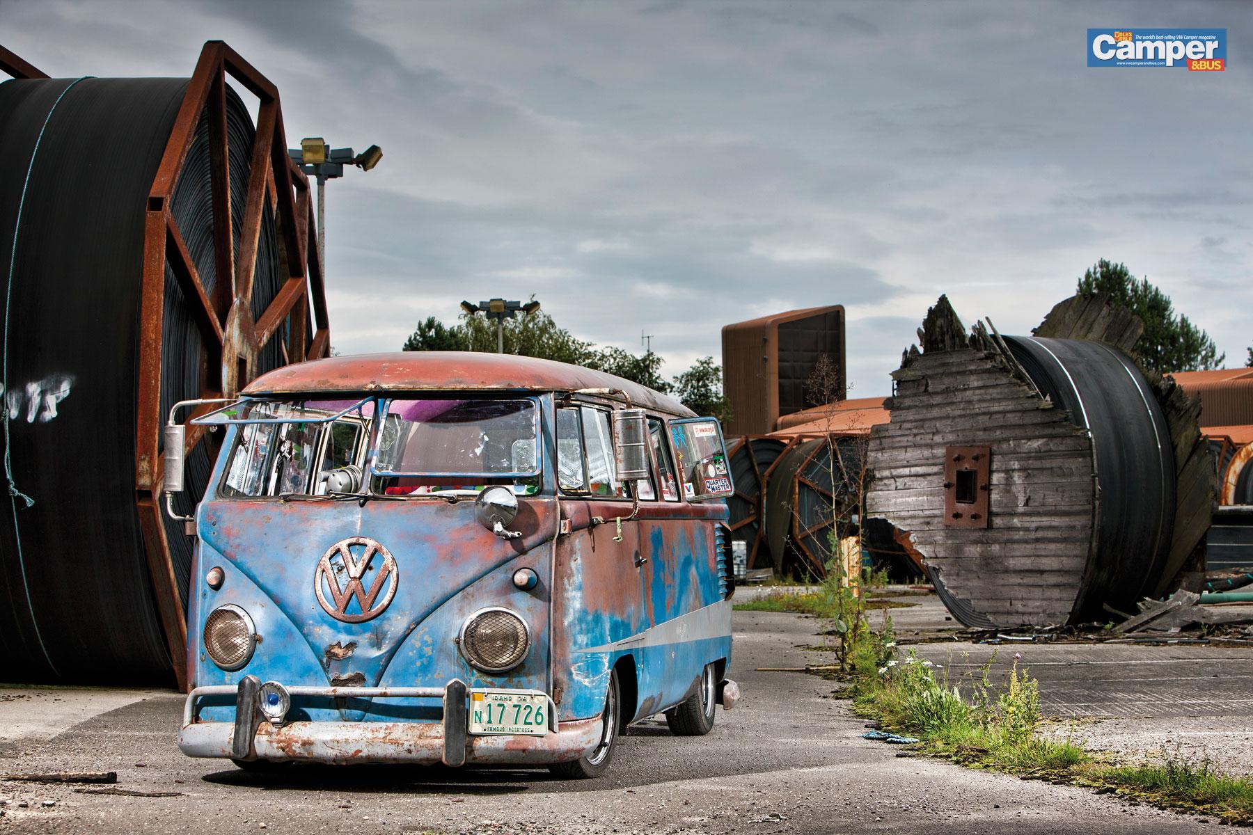 Volkswagen Van Volkswagen Van Vintage Vw Vans 2 Hd Wallpaper Vw Camper 1800x1200 Wallpaper Teahub Io