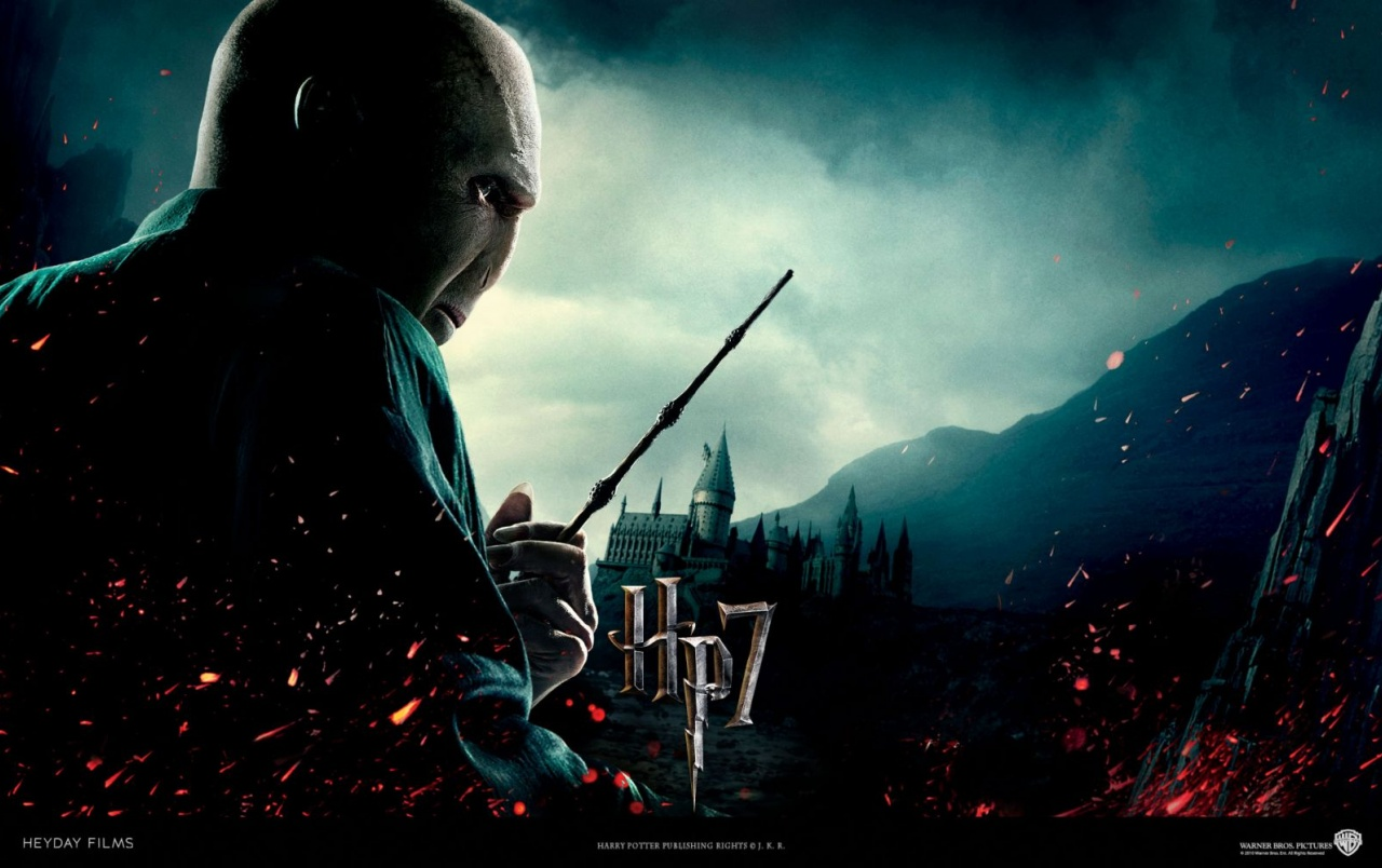 Harry Potter And The Deathly Hallows - Harry Potter Voldemort Background - HD Wallpaper