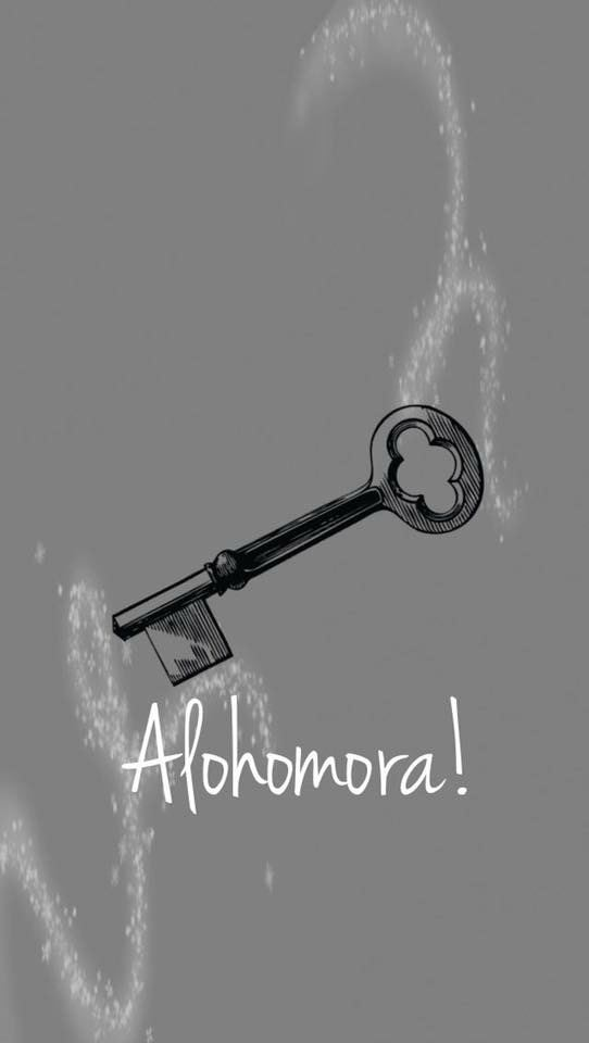 Harry Potter Wallpaper Alohomora - HD Wallpaper