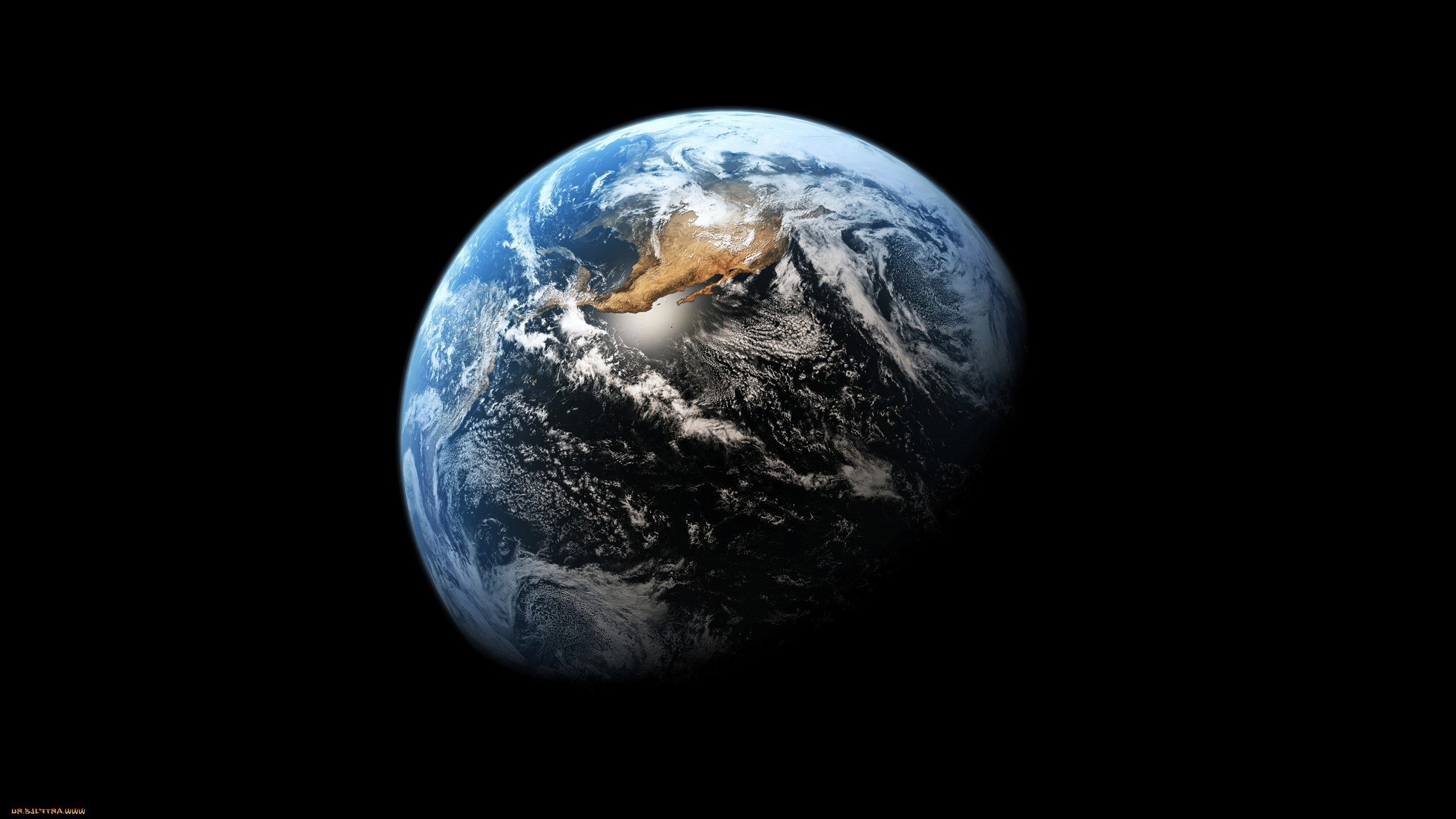 2560x1440 Earth Black Space Planet Wallpapers Hd Earth In Black Space 2560x1440 Wallpaper Teahub Io