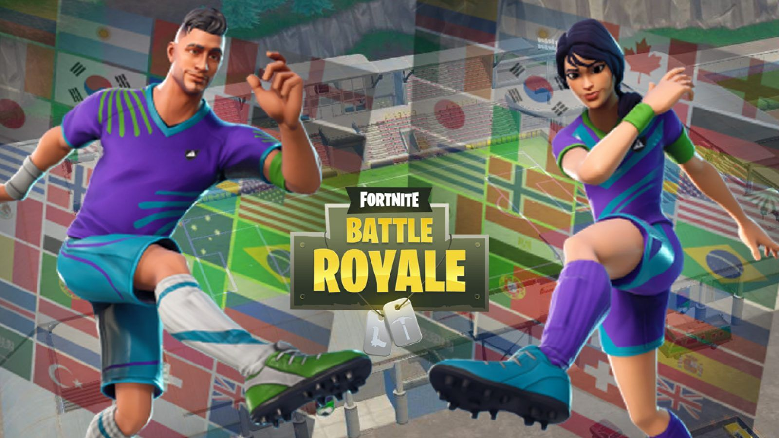 A Video Of The Fully Customization Football World Cup Op Fortnite Soccer Skin 1600x900 Wallpaper Teahub Io