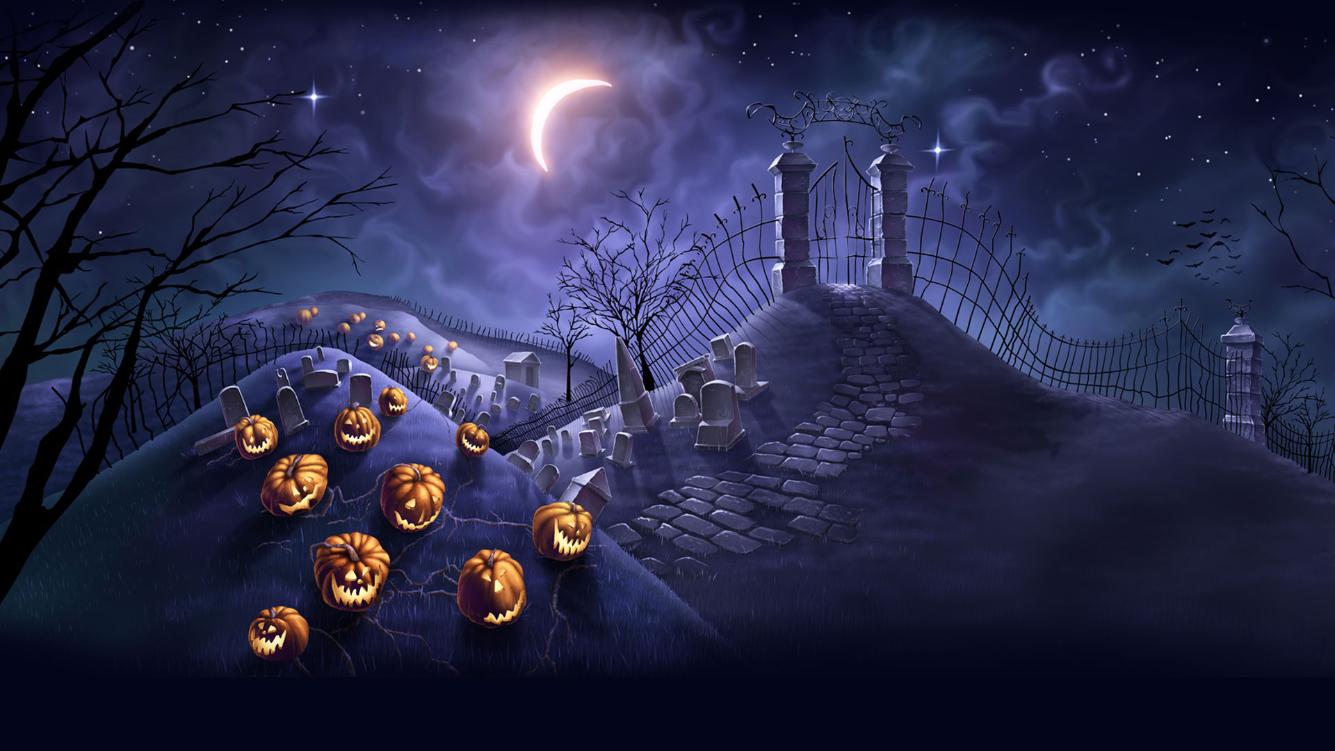 50 Scary Halloween 2019 Wallpapers Hd Backgrounds Halloween 2019 Wallpaper Hd 1920x1080 Wallpaper Teahub Io