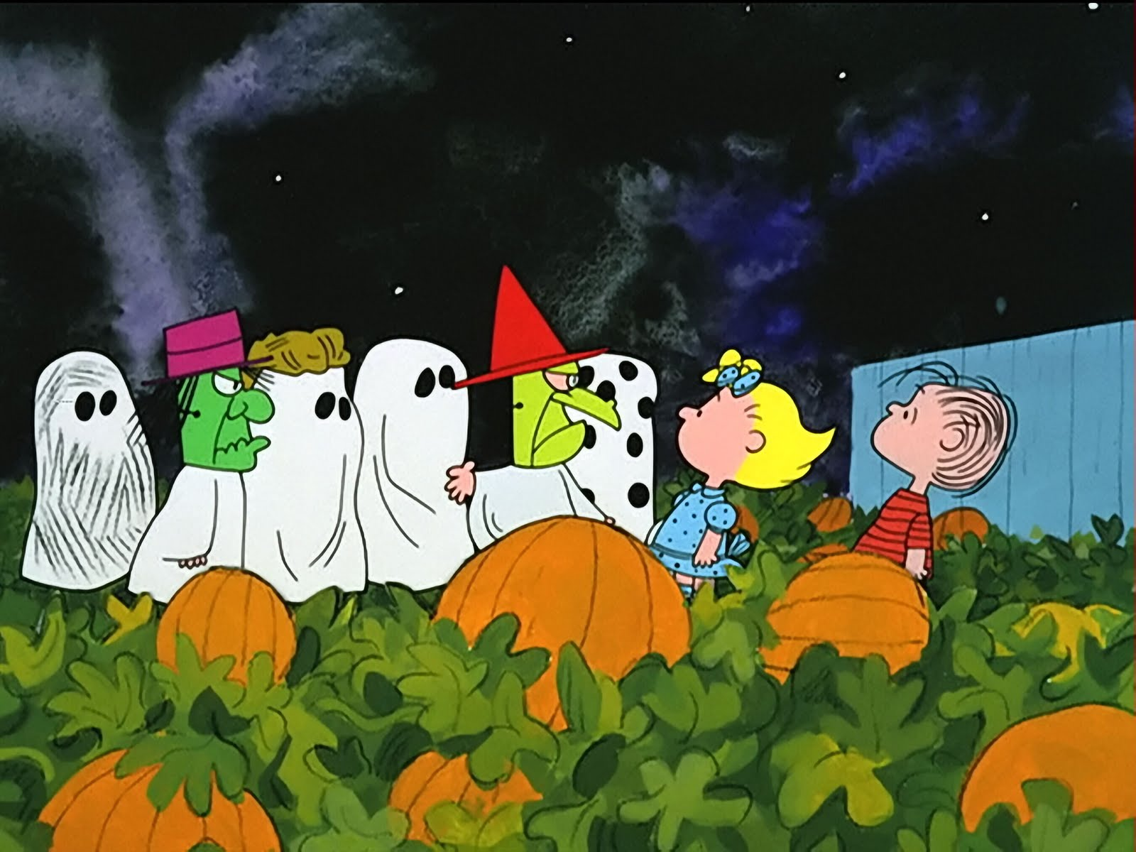 Its The Great Pumpkin Charlie Brown - HD Wallpaper