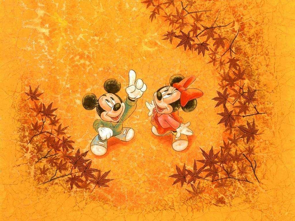 Disney Thanksgiving Background Desktop - HD Wallpaper