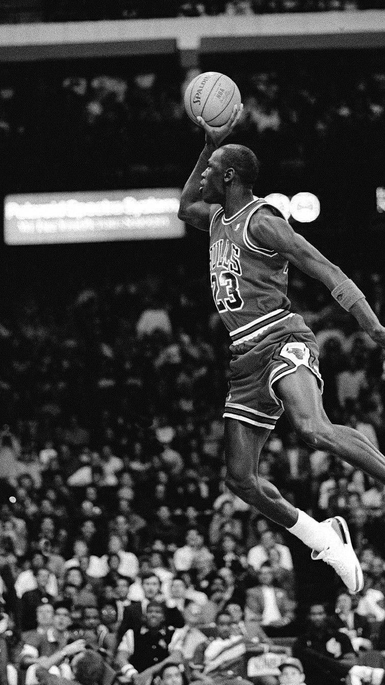 Michael Jordan Wallpaper Black And White 755x1342 Wallpaper Teahub Io