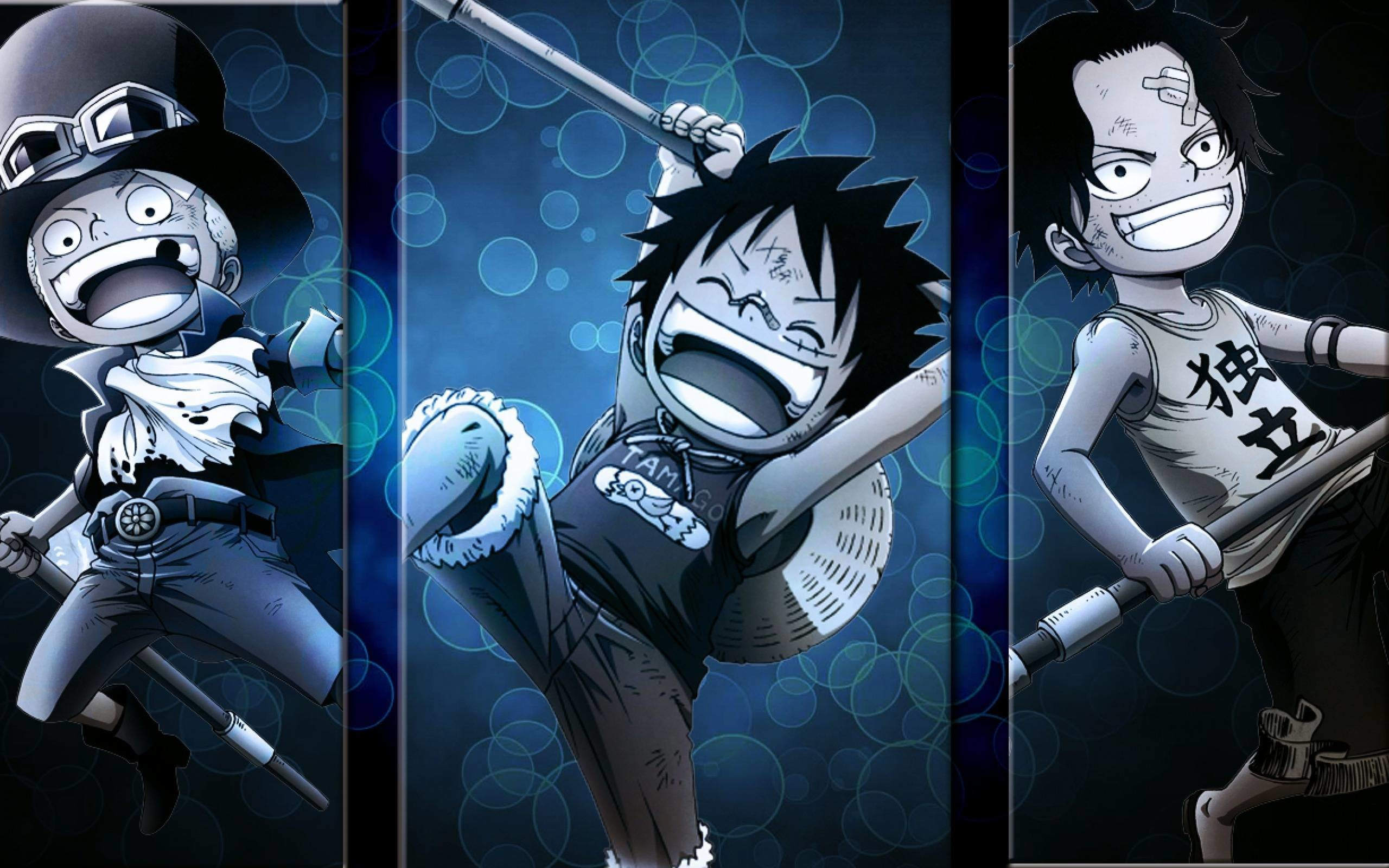 One Piece Luffy And Ace Wallpaper Is Cool Wallpapers - One Piece Luffy Ace Sabo Wallpaper Hd - HD Wallpaper