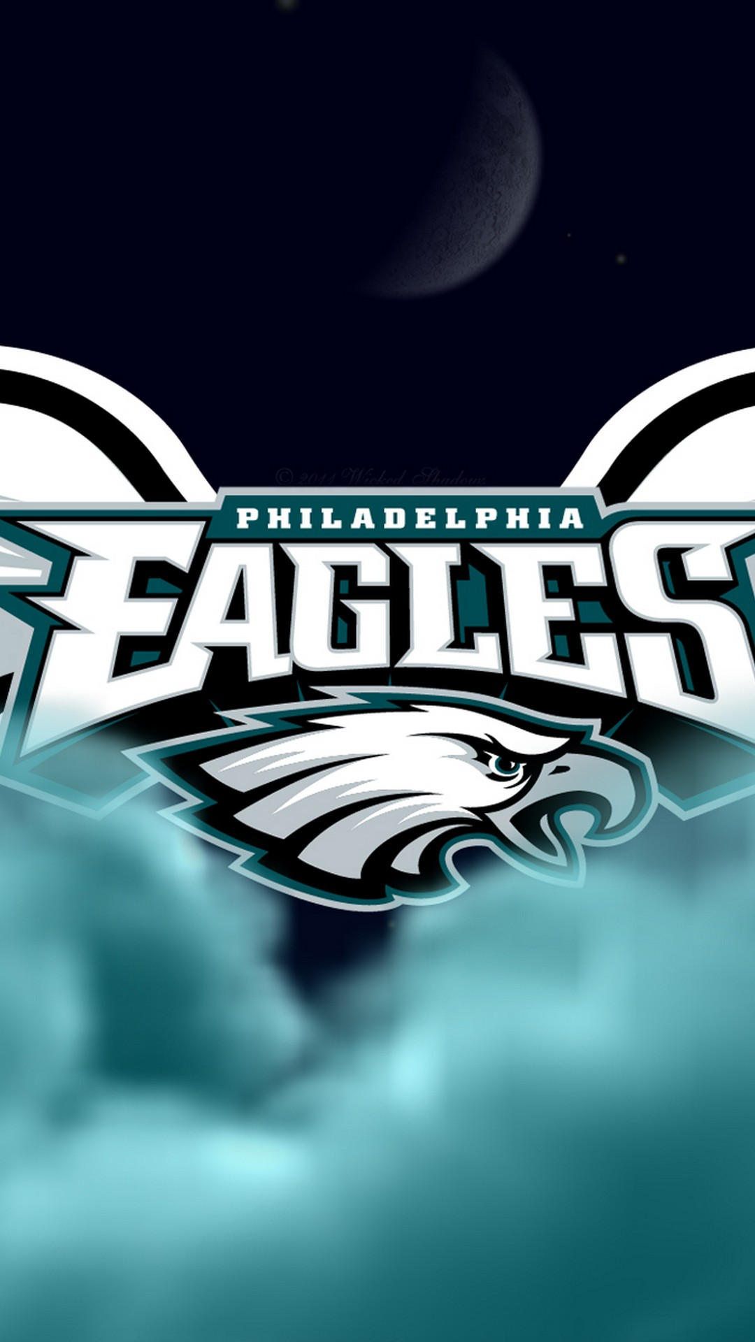 Philadelphia Eagles Iphone X Wallpaper With Resolution - Iphone X Football Backgrounds - HD Wallpaper