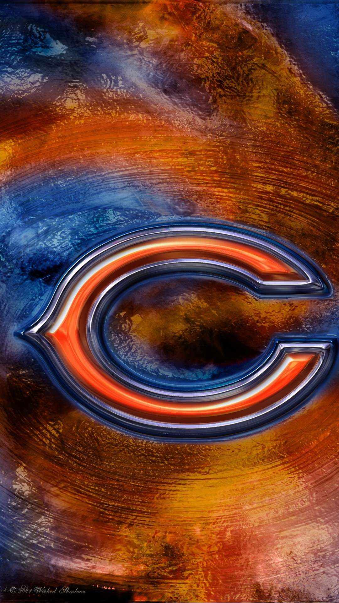 Chicago Bears Iphone 6 Plus Wallpaper With High-resolution - Cool Pictures Of Chicago Bears - HD Wallpaper