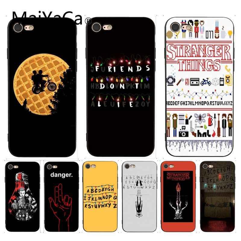 Maiyaca Stranger Things Wallpaper Unique Design Phone - Stranger Things Iphone Xr Case - HD Wallpaper