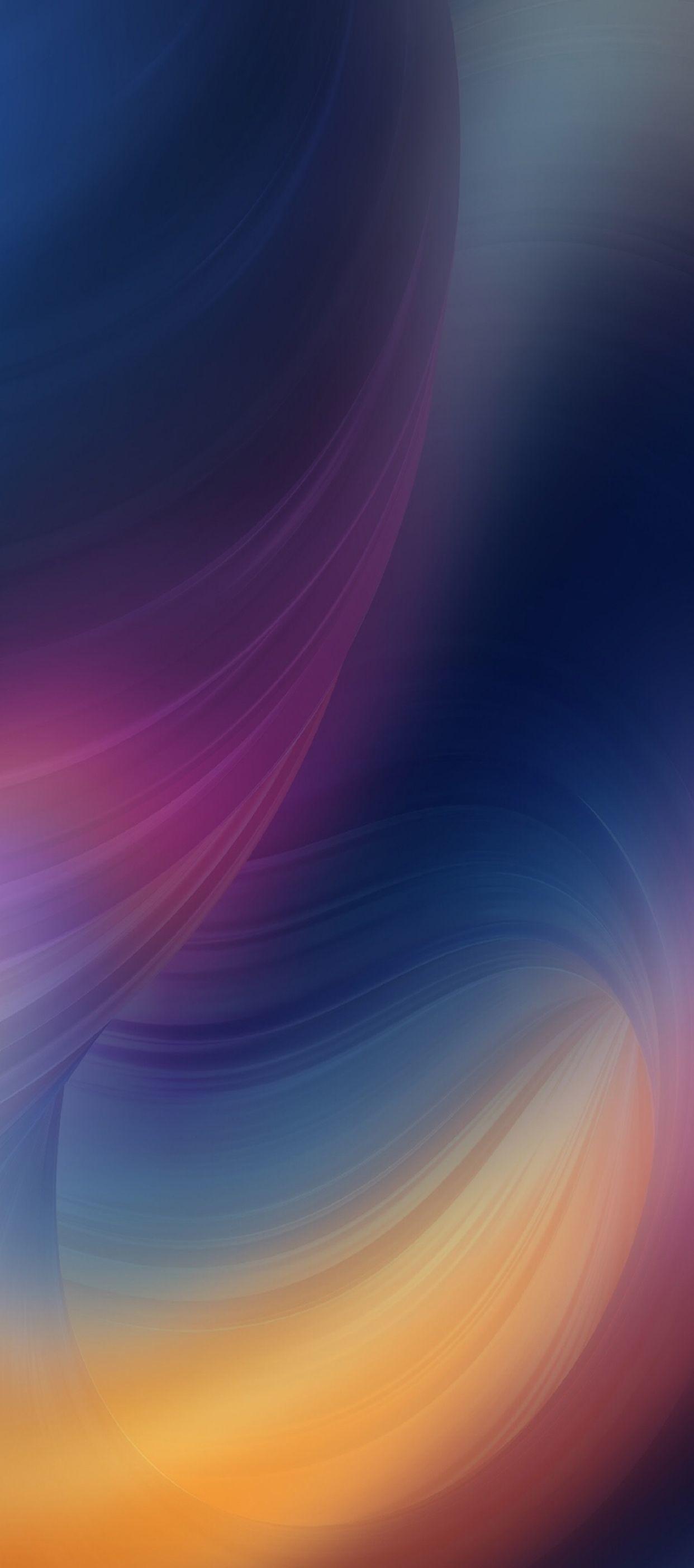 1242x2808, Ios 11, Iphone X, Purple, Blue, Clean, Simple, - Huawei Mate 10 Pro - HD Wallpaper
