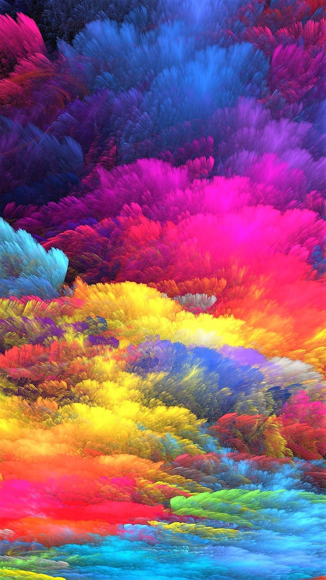 59 Color Explosion Wallpapers On Wallpaperplay   Data-src - Colorful Wallpaper Iphone - HD Wallpaper