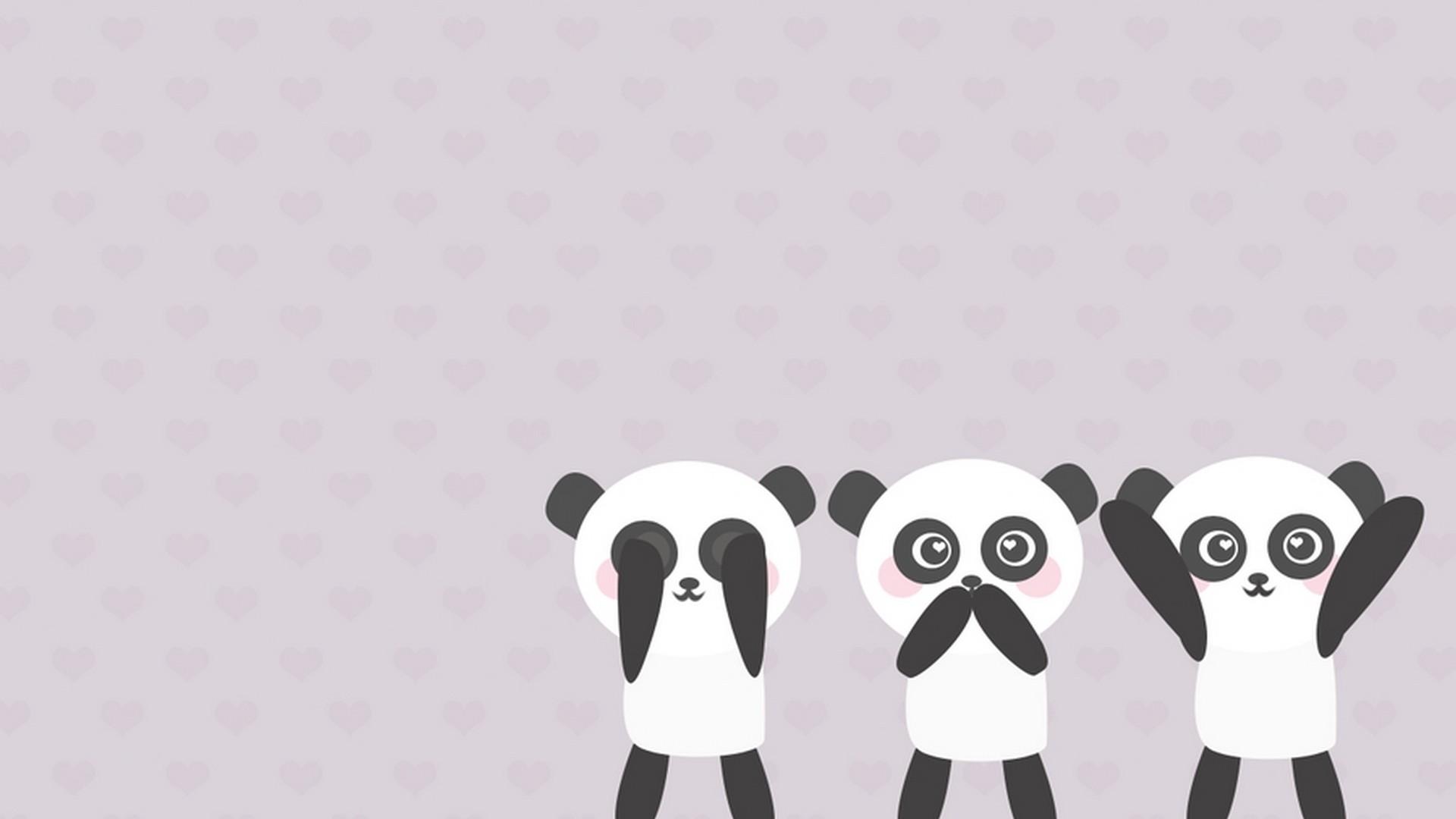 Cute Panda Wallpaper Cartoon - Panda ...