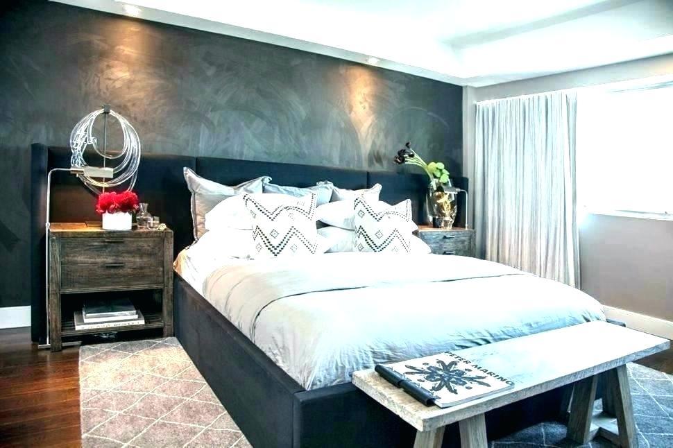 Bedroom Grey Texture Wall - HD Wallpaper