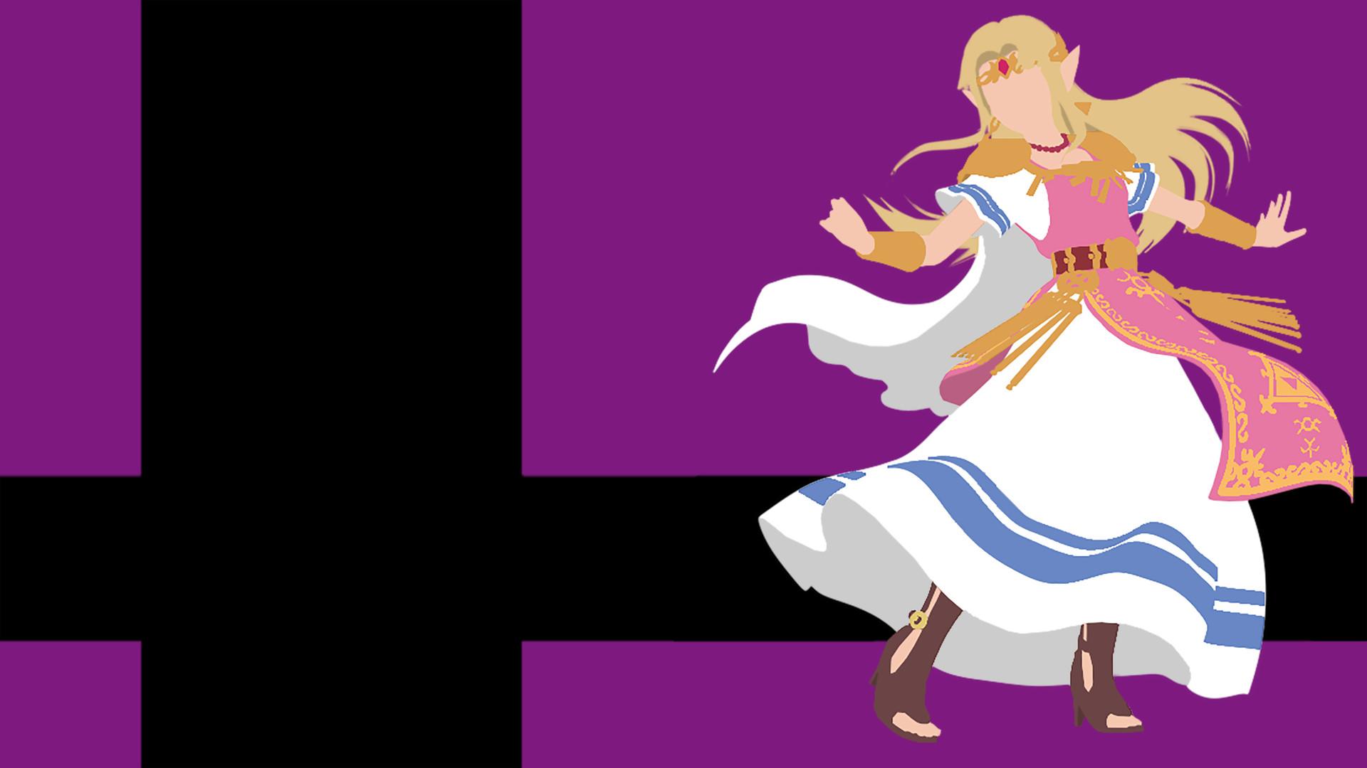 Super Smash Bros Ultimate Zelda - HD Wallpaper