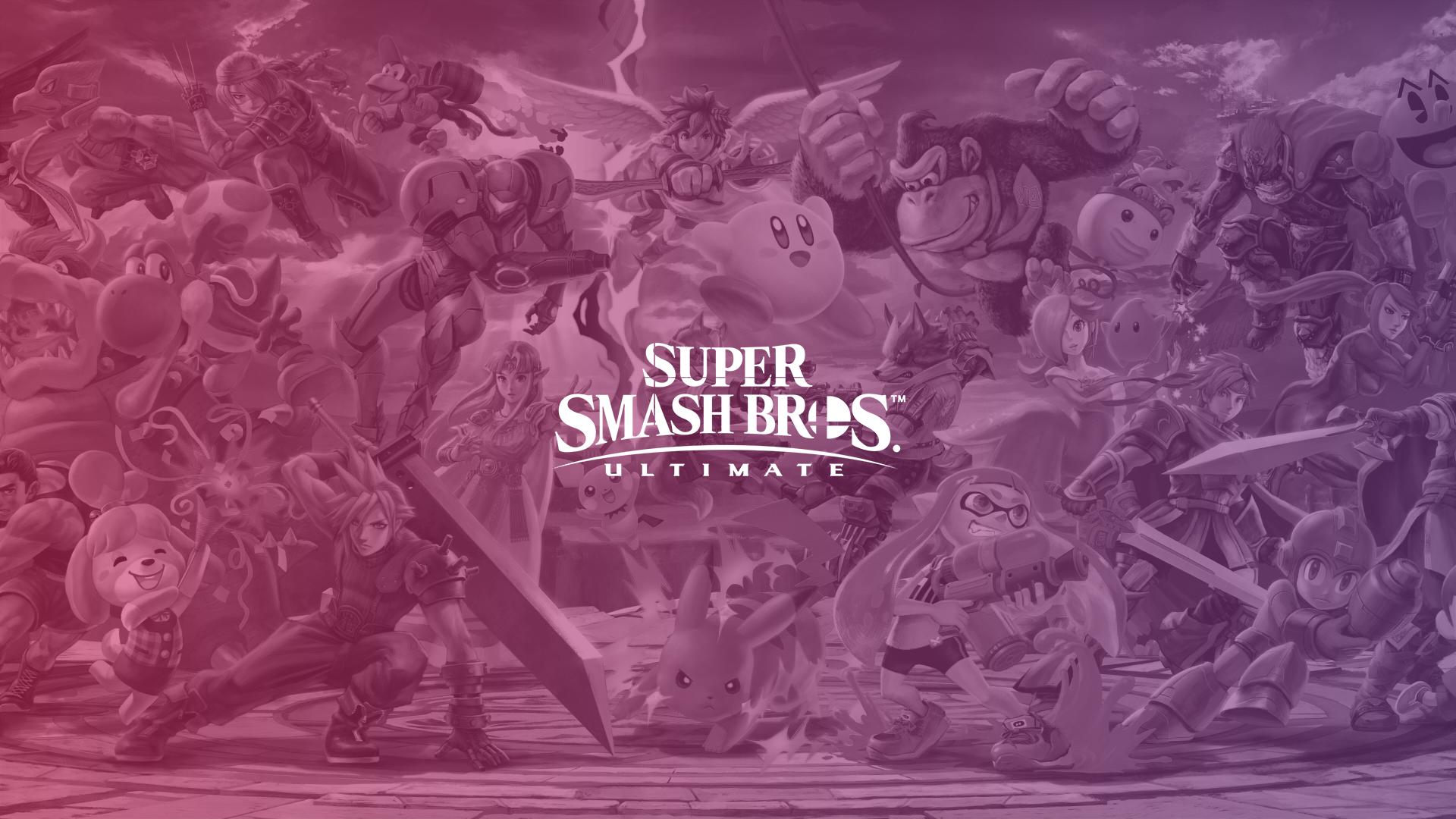 Super Smash Bros Ultimate Characters - HD Wallpaper