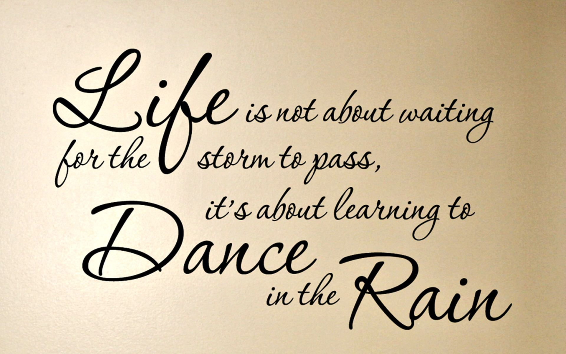 Quotes About Life Rain Wallpaper - Hd Quotes On Life - HD Wallpaper
