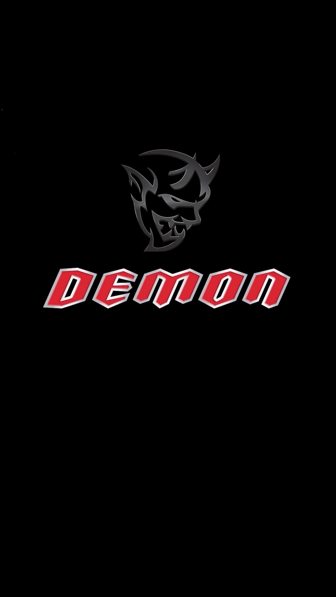 Dodge Demon Logo Iphone Wallpaper Resolution Dodge Demon Logo Iphone 1080x1920 Wallpaper Teahub Io