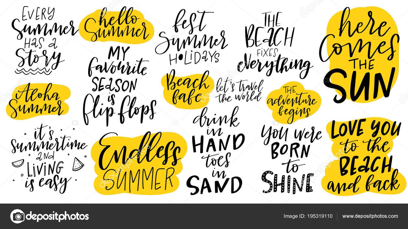 Inspirational Summer Quotes - HD Wallpaper