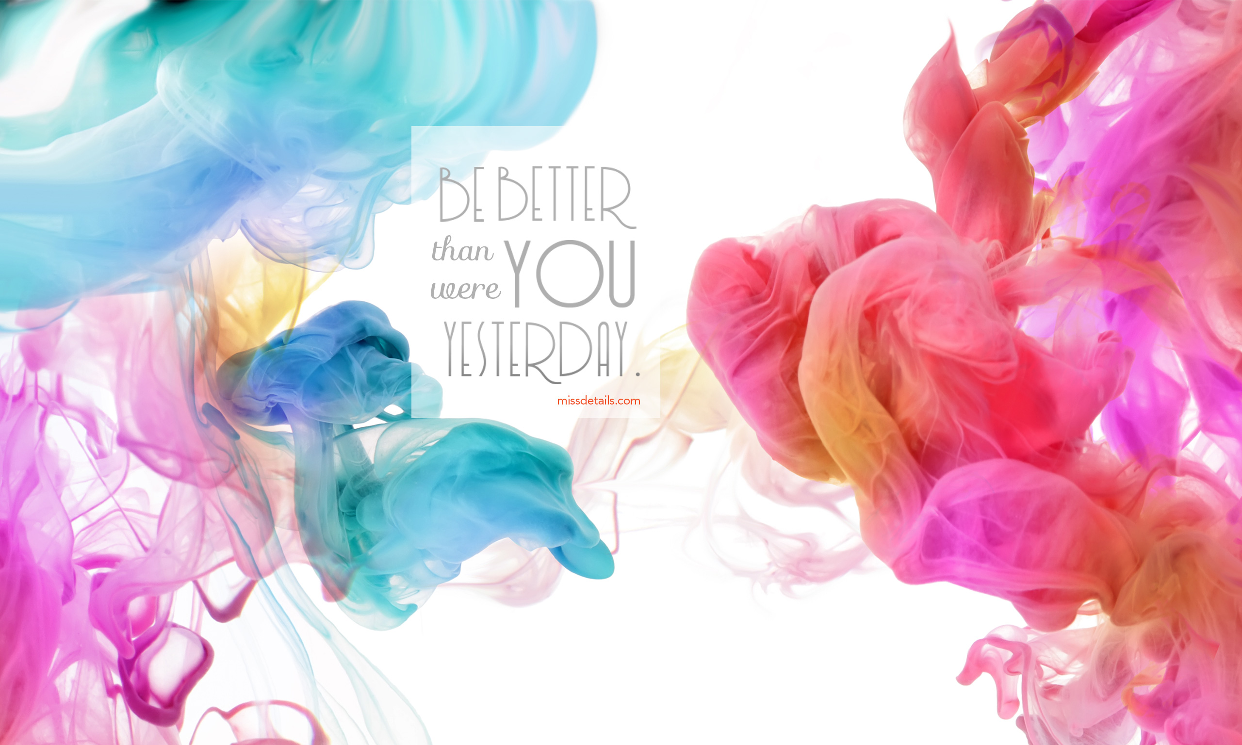 2016 Wallpaper Inspirational Quotes - Colour Smoke Background Hd - HD Wallpaper