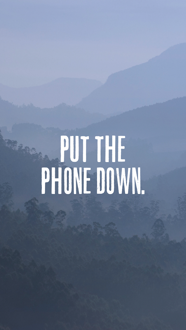 Stop Using Mobile Phone Quotes - HD Wallpaper