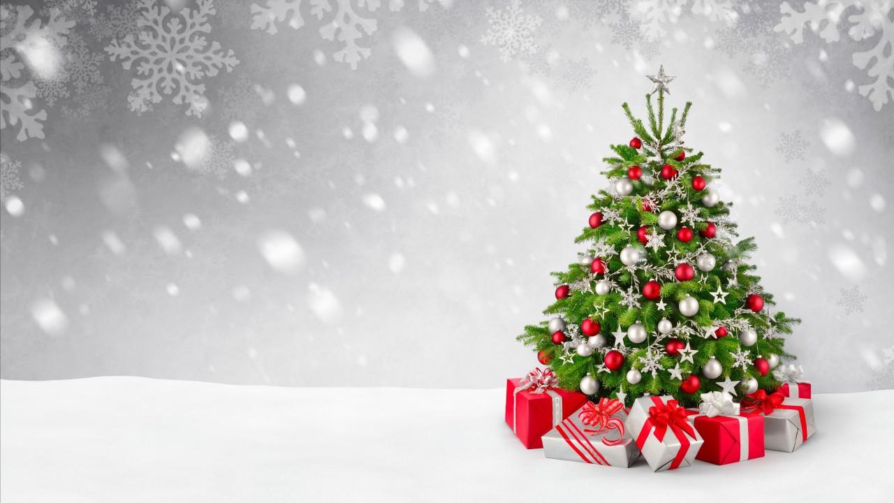 Christmas Tree Wallpaper Hd - 1280x720 Wallpaper - teahub.io