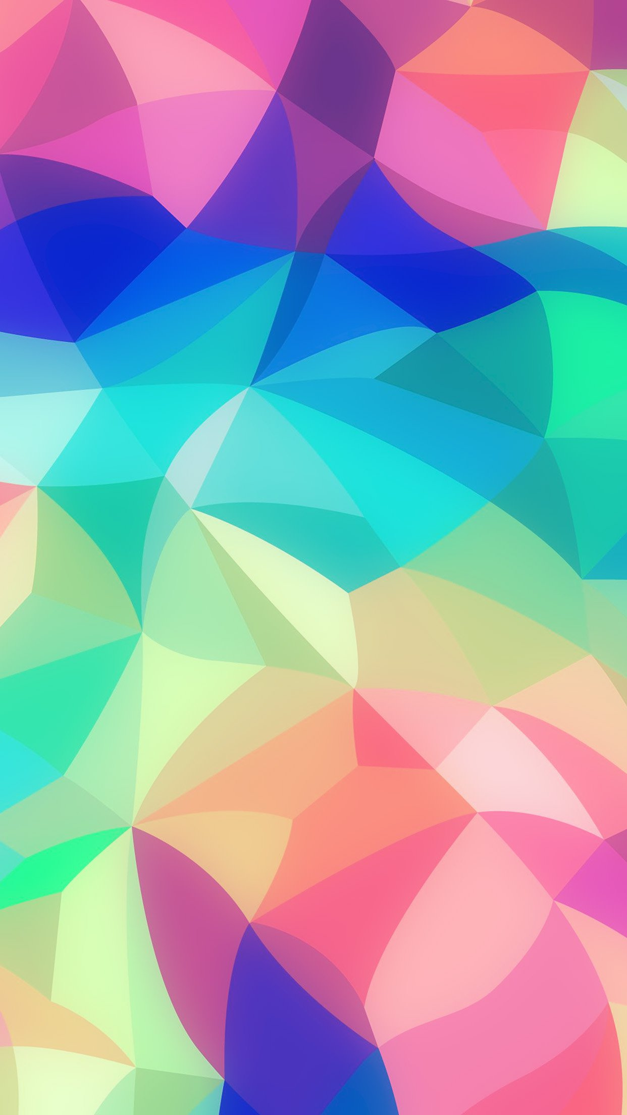 Rainbow Abstract Colors Pastel Soft Pattern Android - Pastel Abstract Colorful Background - HD Wallpaper