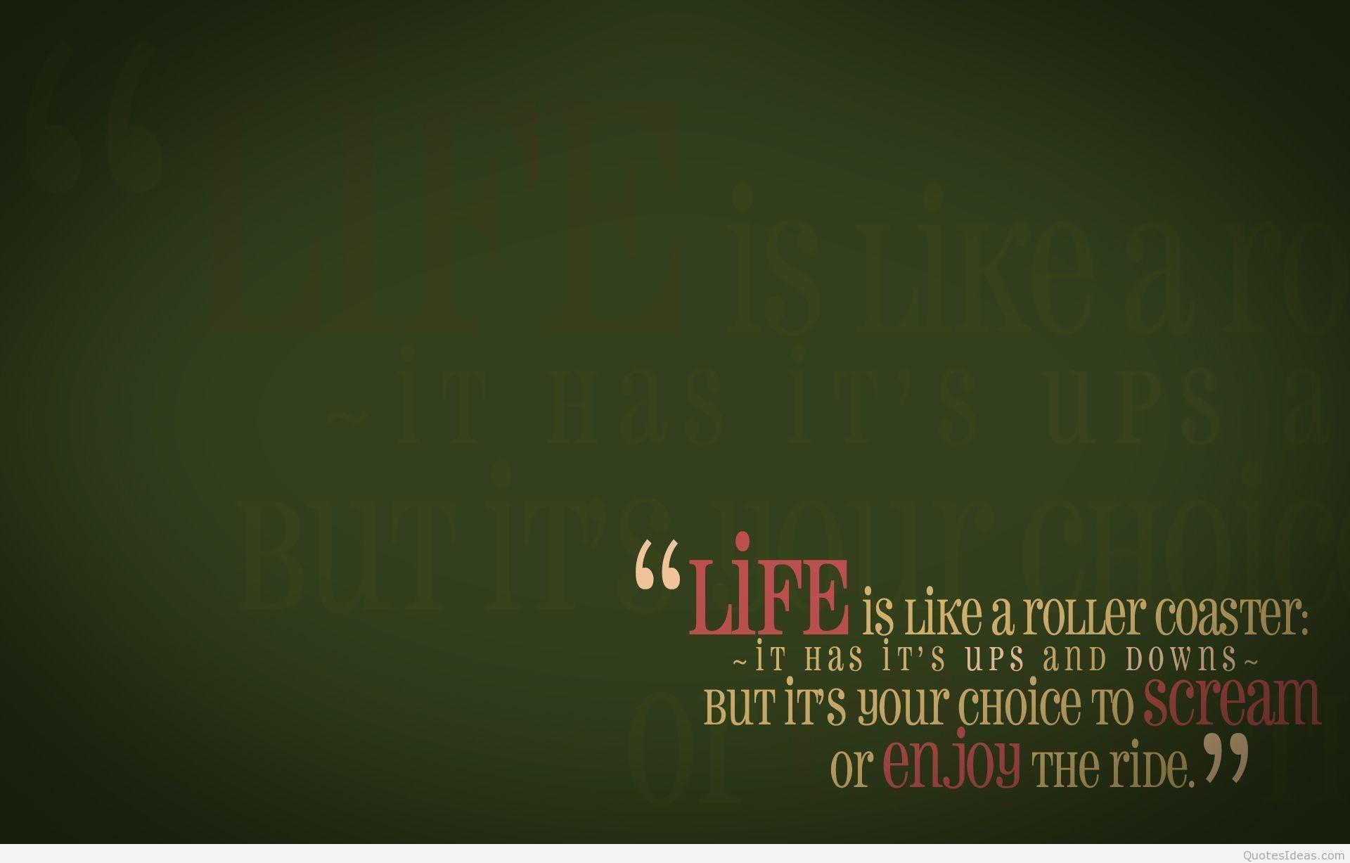 Inspirational Quotes Wallpapers Hd For Desktop Group - De Portada Para Facebook - HD Wallpaper