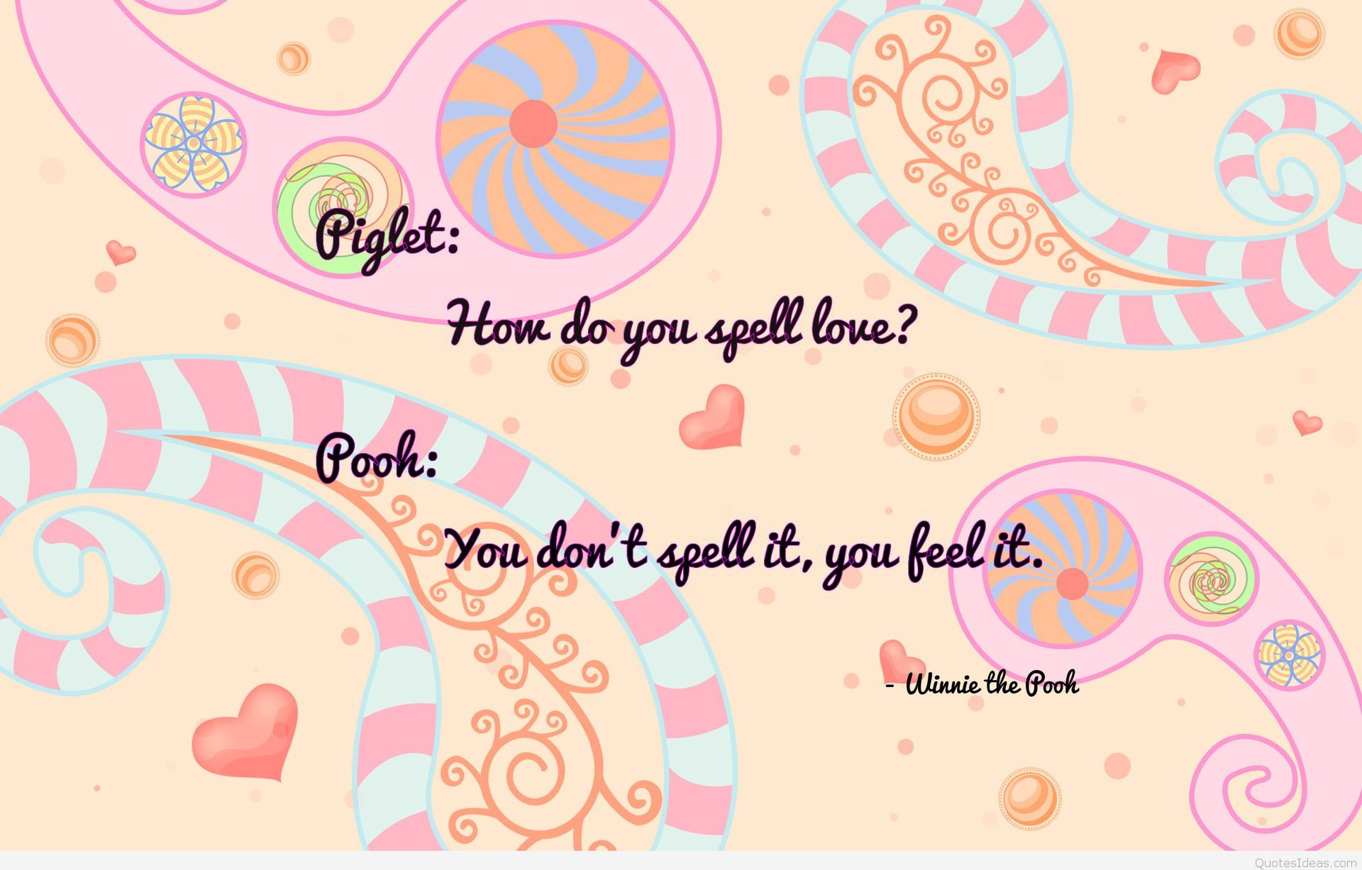 Quotes Pooh Wallpaper Hd Desktop - HD Wallpaper
