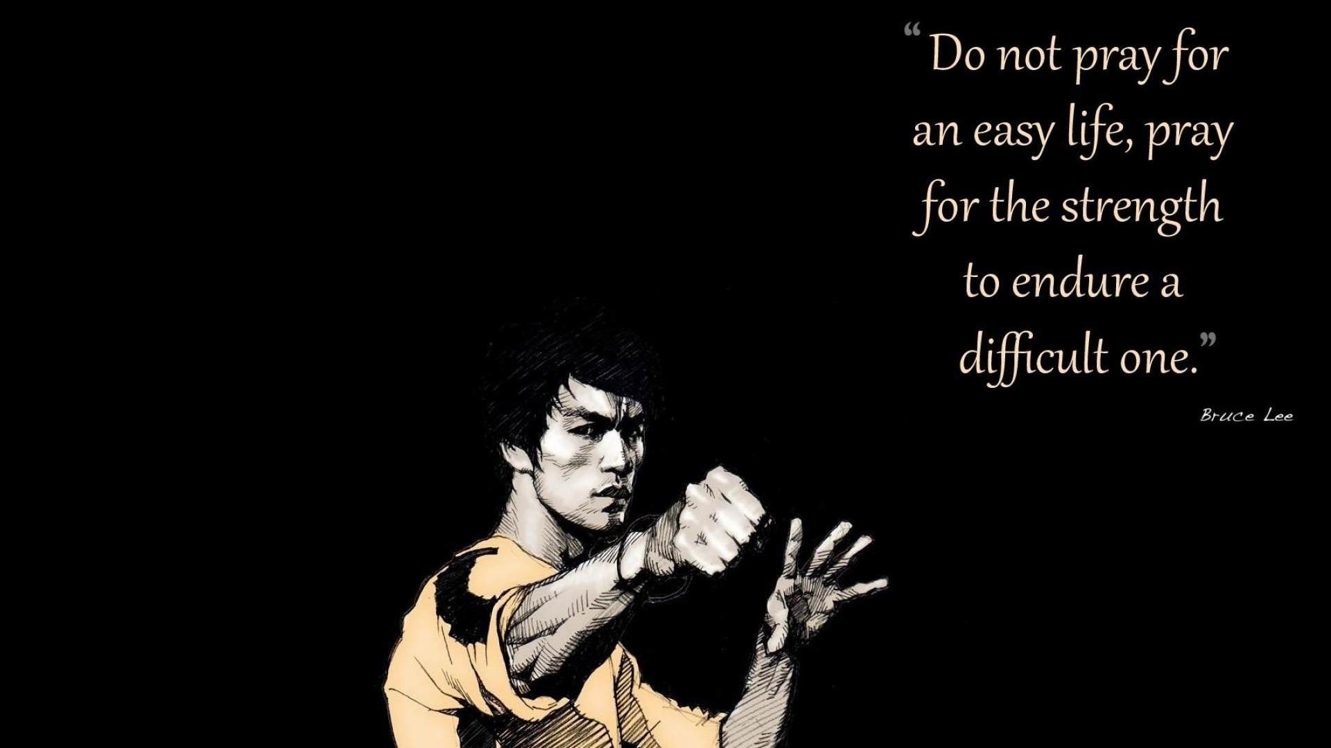 Bruce Lee Quotes Hd - HD Wallpaper