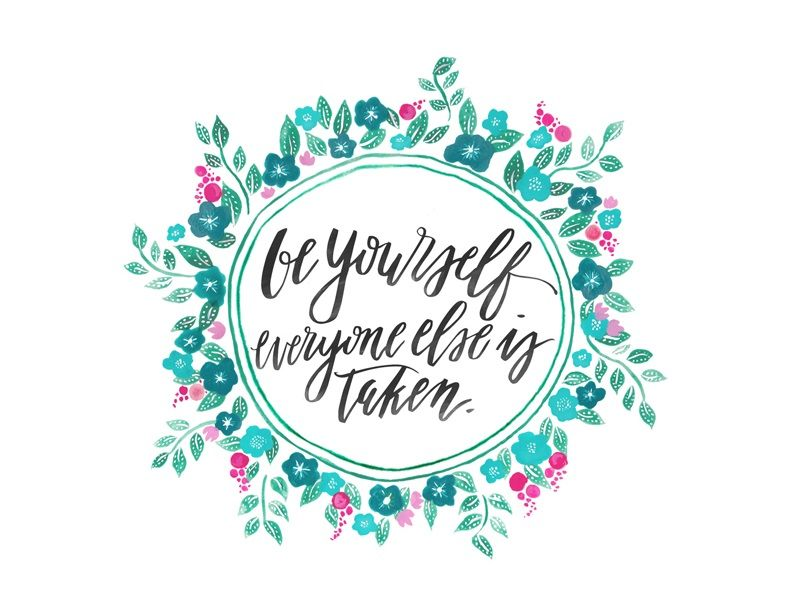 White Floral Background Quotes - HD Wallpaper