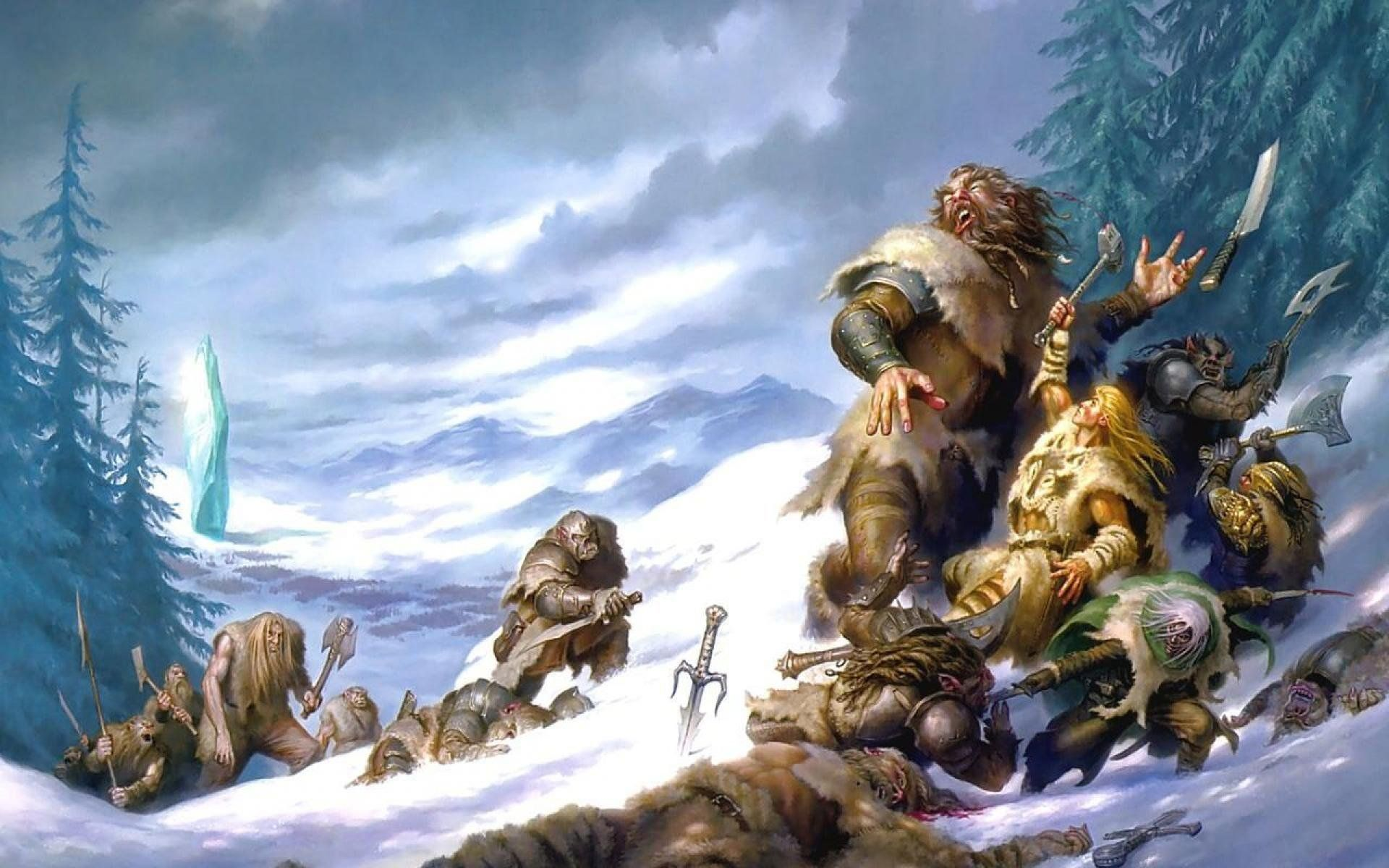 Dungeons And Dragons Hd Wallpapers Hd Wallpapers Dd - Crystal Shard Salvatore - HD Wallpaper