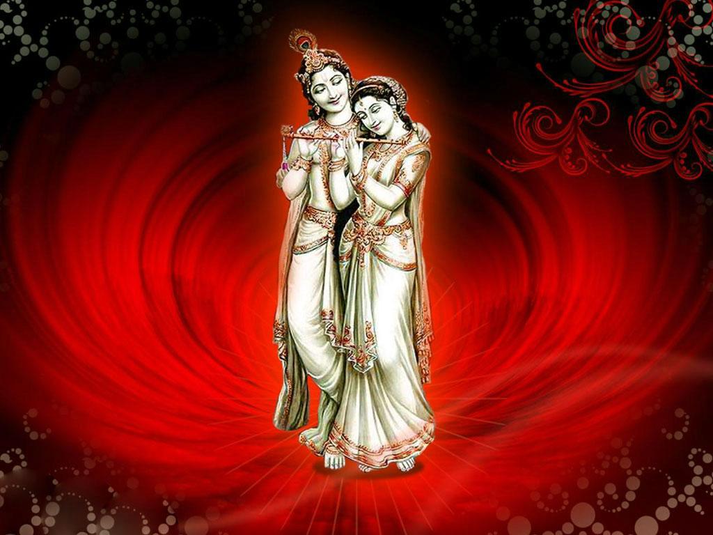 Love Beautiful Radha Krishna - HD Wallpaper