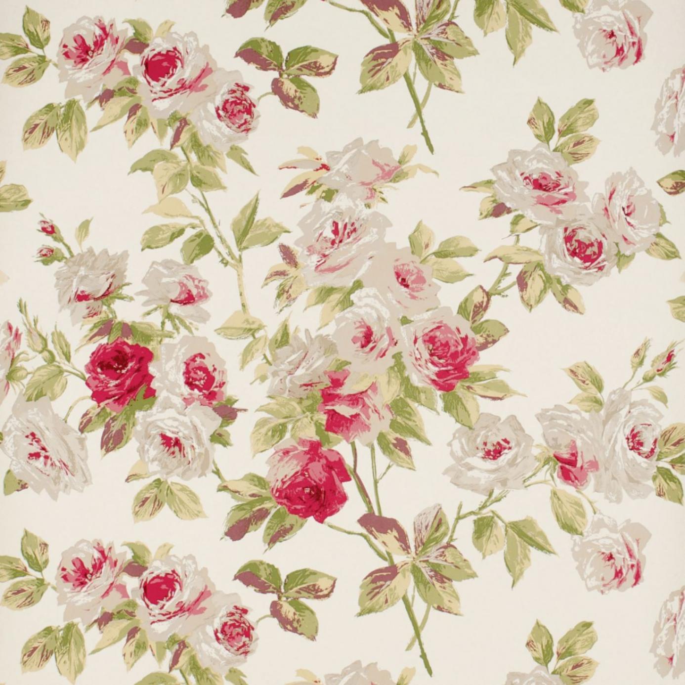 Vintage Flowers - HD Wallpaper