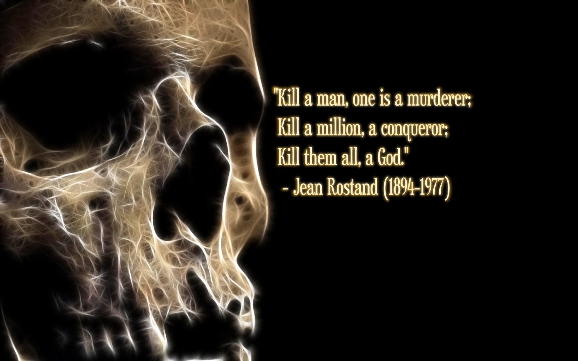 Dark, Evil, Horror, Artistic, Art, Hd Horror Wallpapers, - Skull Wallpaper With Quotes - HD Wallpaper