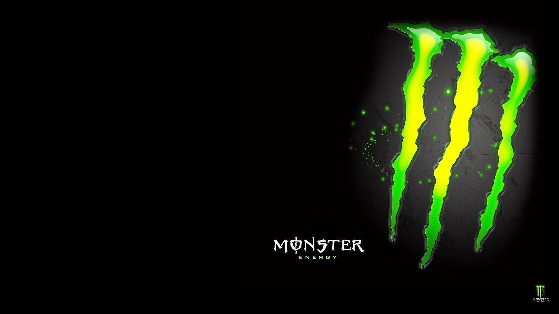 Rockstar Energy Drink Wallpaper - Monster Energy Color Palette - HD Wallpaper