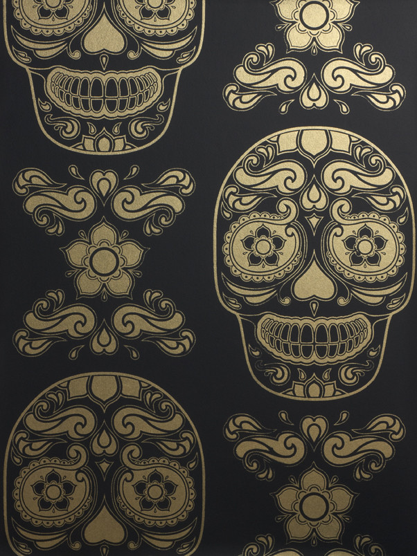 Day Of The Dead Skull Iphone - HD Wallpaper
