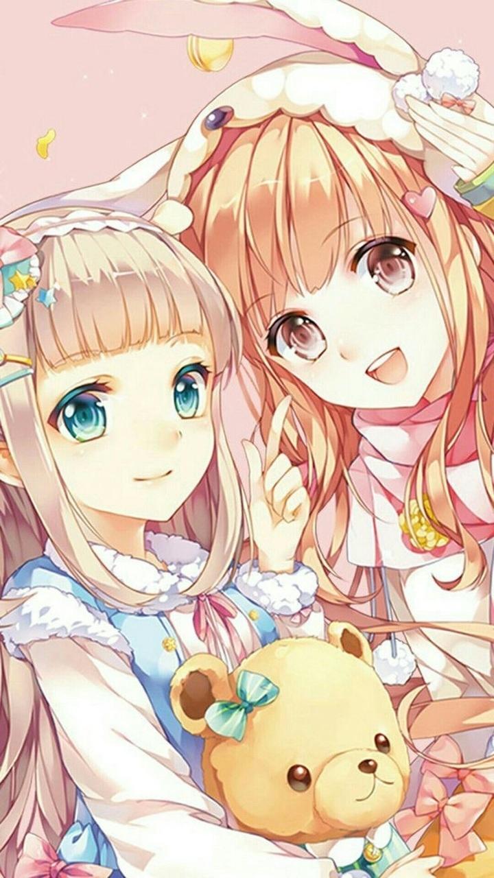 Anime Girl And Kawaii Image Adorable Cute Kawaii Anime Girl 720x1280 Wallpaper Teahub Io