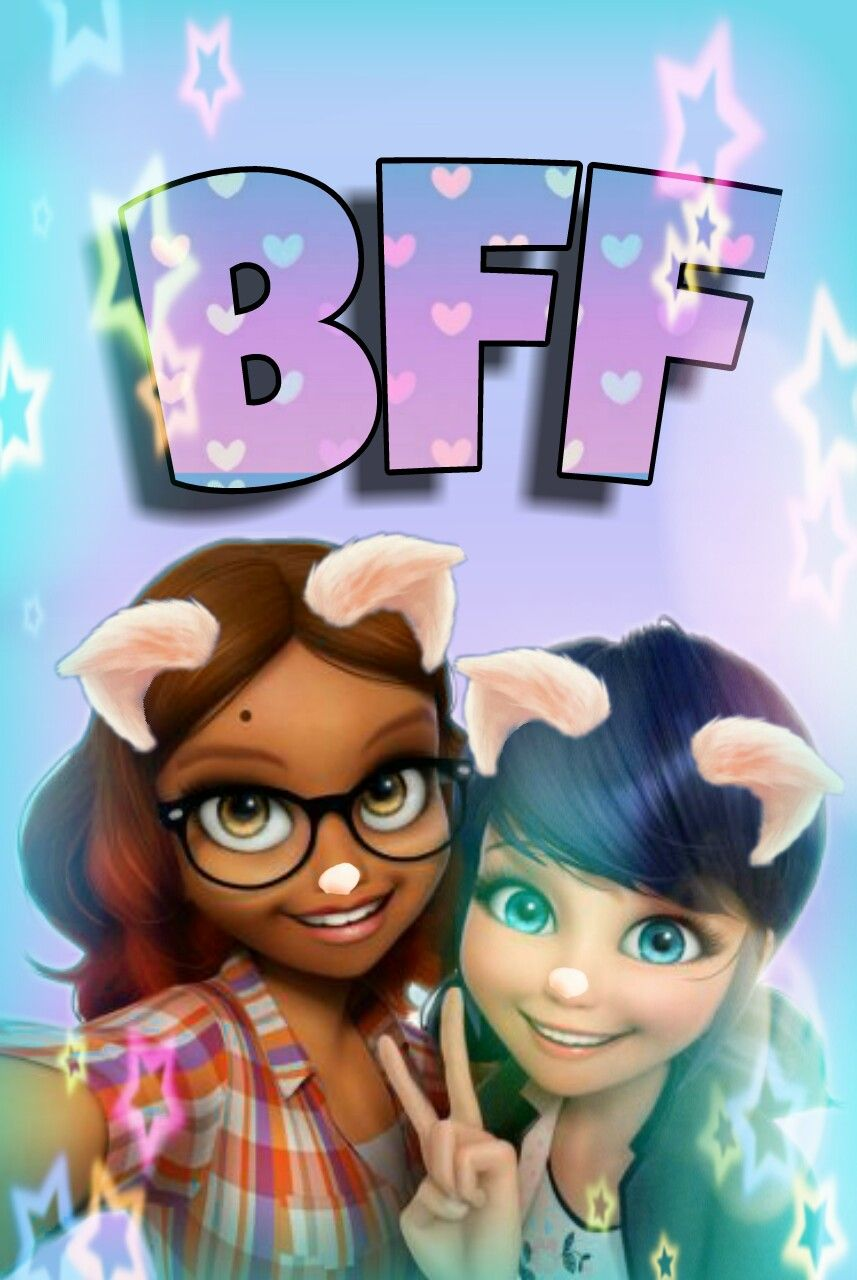 #kawaii #cute #bff #bestfriends #wallpaper #stars #selfie ...