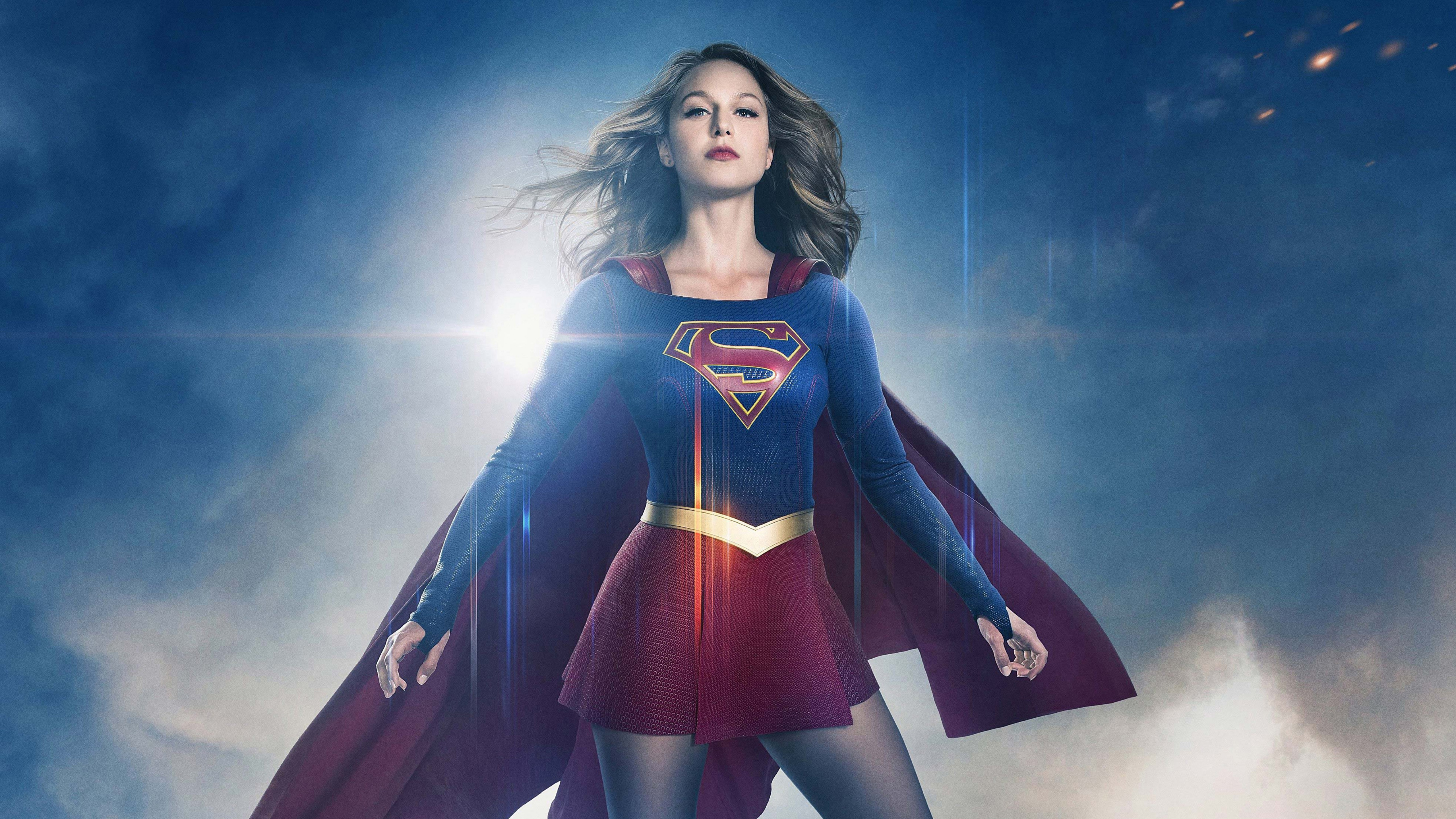 Supergirl Season 4 Netflix 5120x2880 Wallpaper Teahub Io