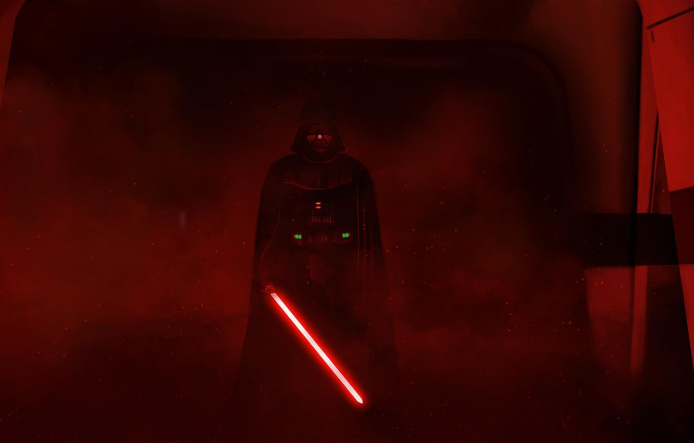 Photo Wallpaper Star Wars Red Darth Vader Sith Lord Darth Vader Wallpaper Rogue One 1332x850 Wallpaper Teahub Io