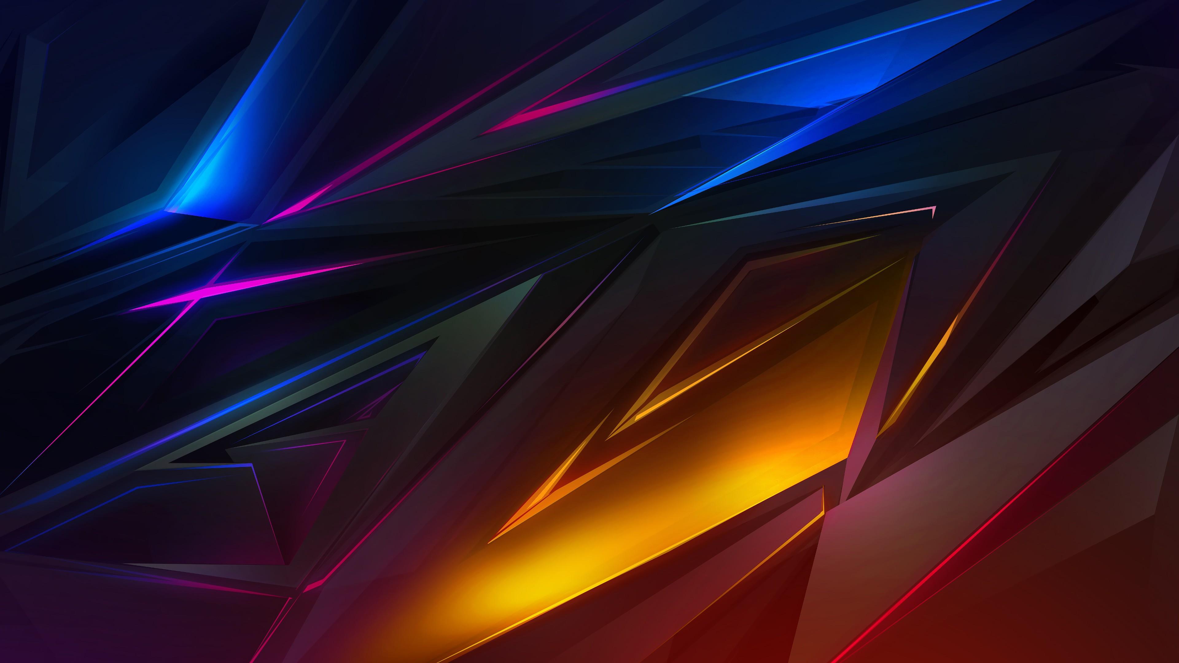 Dark Abstract Wallpaper 4k - HD Wallpaper