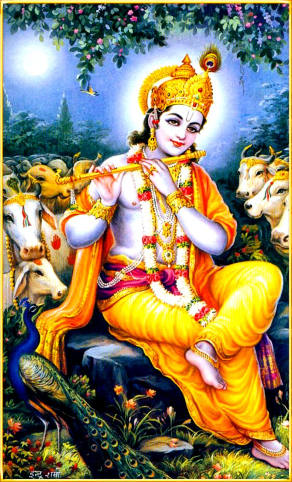 Sri Krishna God Live Wallpaper For Android Download - HD Wallpaper