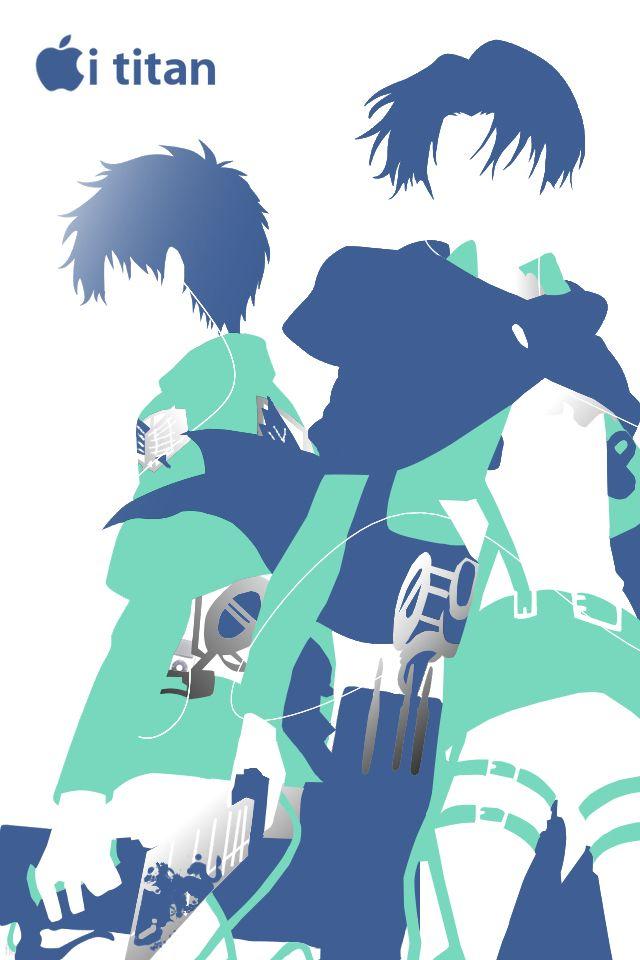 Chibi Attack On Titans Iphone 640x960 Wallpaper Teahub Io