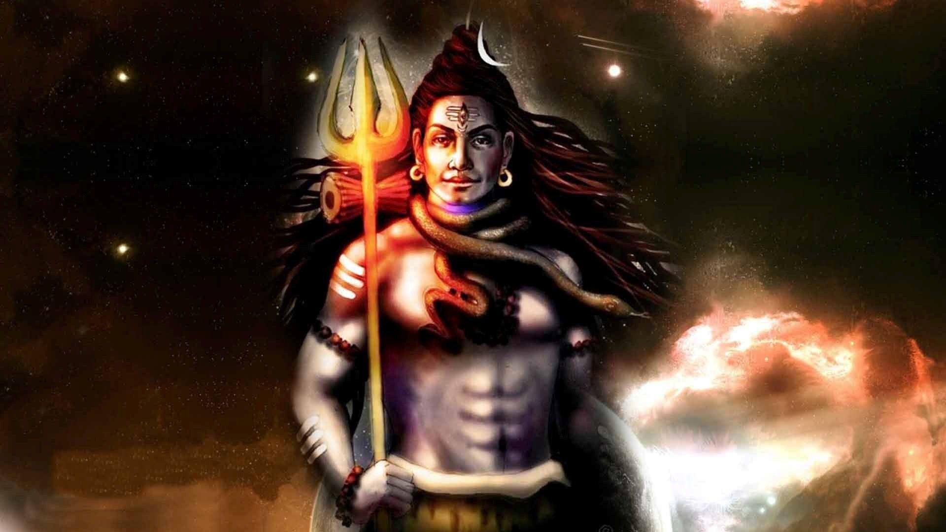 God Shiva Wallpaper - 3d Animated Lord Shiva - HD Wallpaper