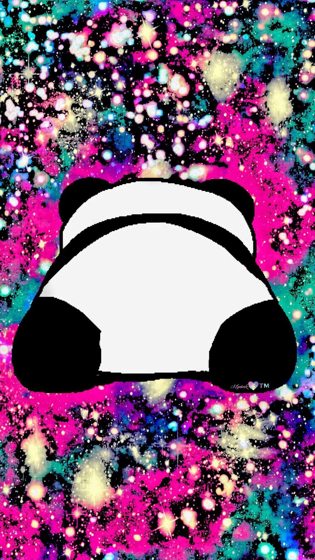 1080x1920, Cute Panda Galaxy Wallpaper - Galaxy Panda Wallpaper Cute - HD Wallpaper