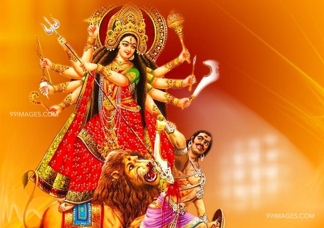 Maa Durga Devi Latest Hd Photos Title Maa Durga Devi Durga Puja Image Hd 1080x760 Wallpaper Teahub Io
