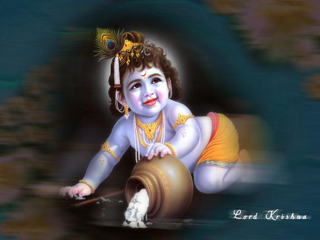Krishna God Wallpaper - Lord Krishna - HD Wallpaper